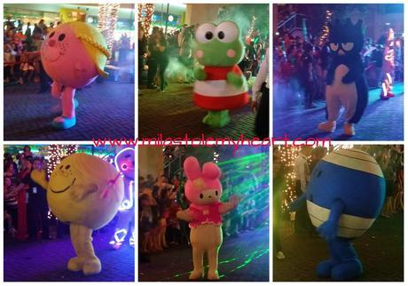 The SM Mall of Asia Lights Up, Sanrio-style!