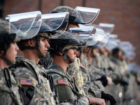 Missouri National Guard troops