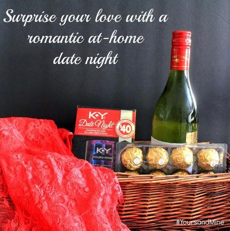 romantic at home date nights yoursandmine paperblog