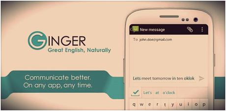 Ginger Grammer App