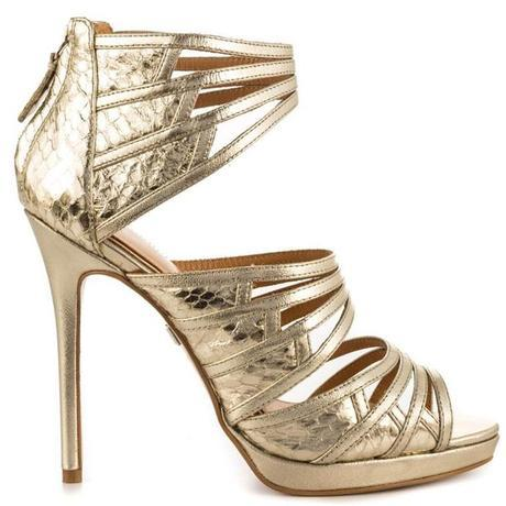 Mad about Metallic. 16 Pairs of Wedding Worthy Shoes for your Big Day12