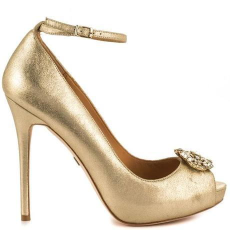 Mad about Metallic. 16 Pairs of Wedding Worthy Shoes for your Big Day11