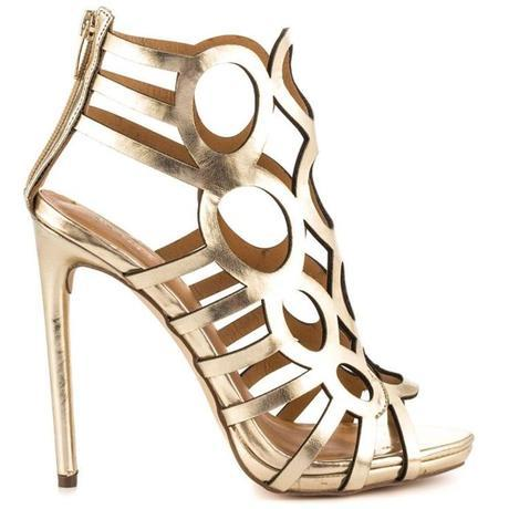 Mad about Metallic. 16 Pairs of Wedding Worthy Shoes for your Big Day0
