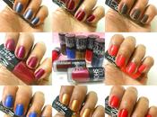 Maybelline Color Show Bright Sparks Swatches
