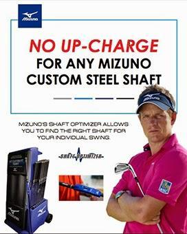 Mizuno Eliminates All Custom Steel Shaft Upcharges