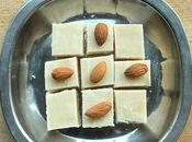 Badam Burfi Recipe Make Almonds