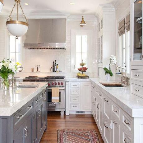 Nice Bright Kitchen Paperblog