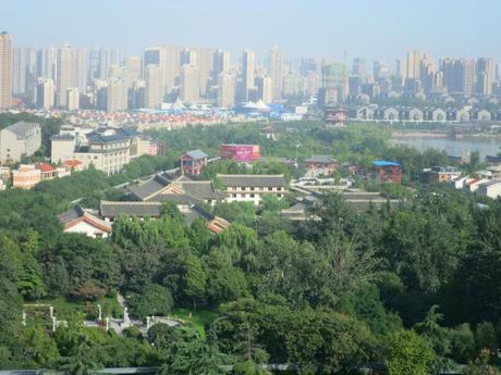 Xi'an City Landscape | Mint MochaMusings