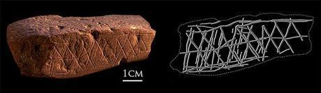 First pre-human art found