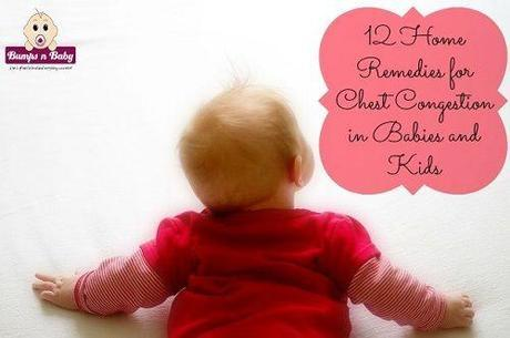Home Remedies for Chest Congestion in Babies and Kids