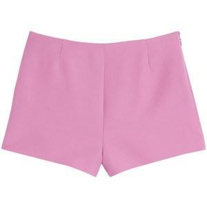 VALENTINO Wool-Silk Blend Shorts