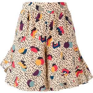 Chloé Geometric Print Shorts