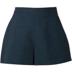 Delpozo Pleated Shorts
