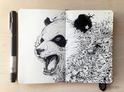 Fantastic Doodles Moleskin Notebook Kerby Rosanes
