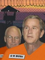 George W. Bush, War Criminal, Tries to Make Amends