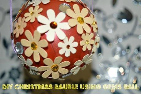 Christmas Bauble using Gems Ball