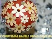 Christmas Bauble Using Gems Ball (Step Step Tutorial)