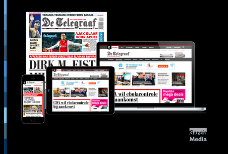 De Telegraaf: two months after launch of tabloid format