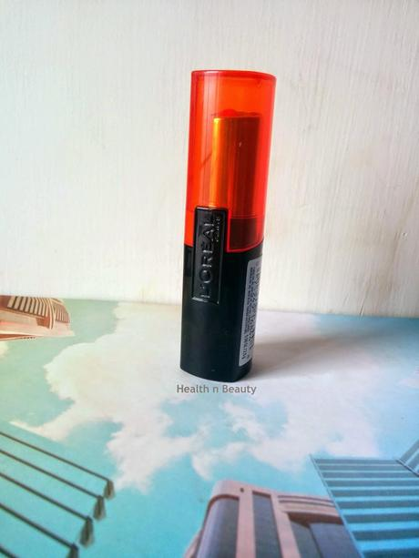 #Loreal Infallible Le Rouge #Lipstick #AlwaysApricot - Review & #FOTD