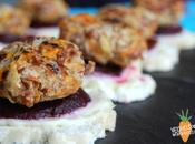Walnut Falafel Sliders with Pickled Beetroot Lemon Mayo- Virtual Vegan Potluck