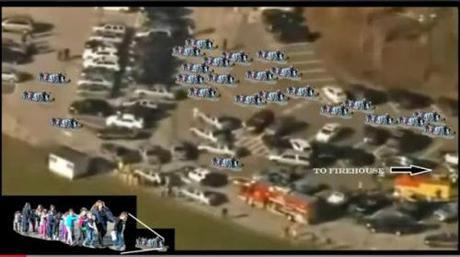 Sandy Hook children being evacuated, had there been one