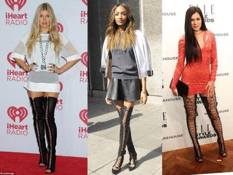 Poll Would You Wear Lace up Thigh High Boots? , Paperblog