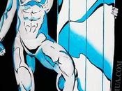 Artist Recreates Silver Surfer Comic Book Cover Using Body Paint