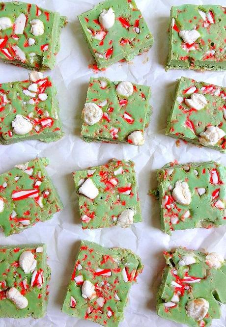 Vegan and Gluten Free Candy Cane and Marshmallow Peppermint Fudge - Creamy, Decadent, Festive and so Simple to create!