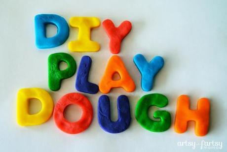 Can you make play dough at home for your kids?