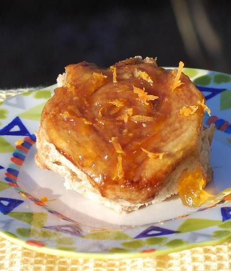 Orange Marmalade Rolls from Healthy Slow Cooking