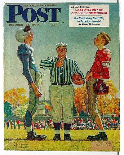 ARTicle of interest: Norman Rockwell's The Coin Toss