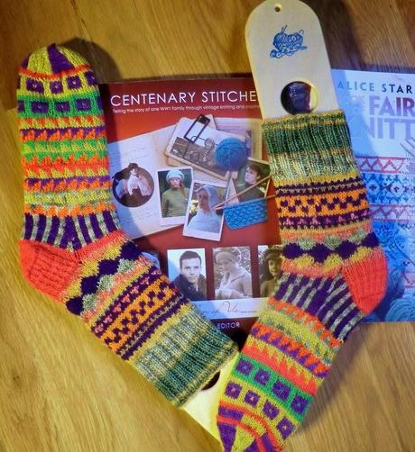 Fair Isle Knit Socks and More - Paperblog