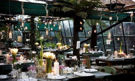 My 'if I won the lottery and could get married in a greenhouse' wedding venue- Petersham Nurseries, Richmond