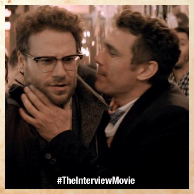 Seth Rogan and James Franco love each other