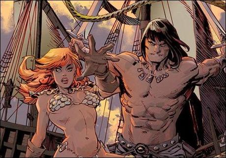 Conan Red Sonja #1