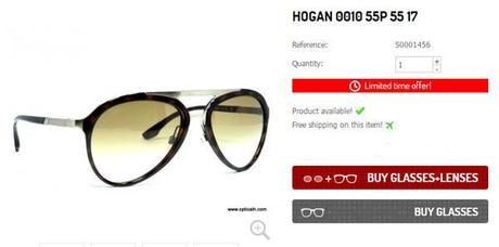 2edfc1d516 Christmas Raffle of Optical H  Hogan Sunglasses! - Paperblog