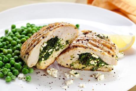 Chicken Stuffing: Ricotta & Spinach