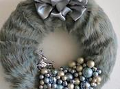 Stylish Wreath with Faux