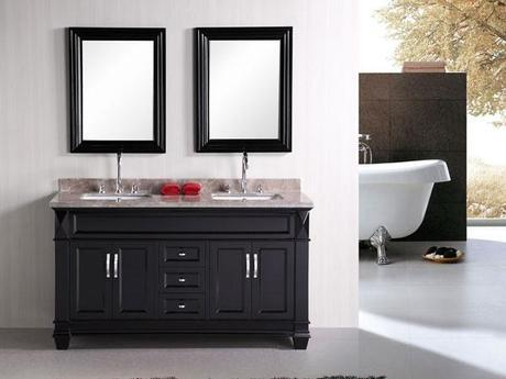 Hudson Transitional Bathroom Vanity