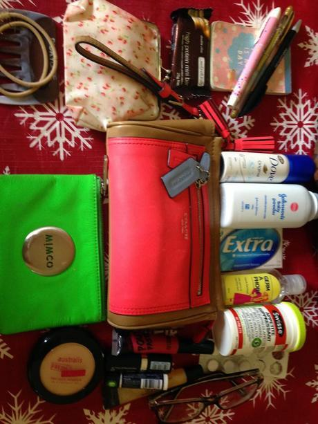 Whats in my bag - Louis Vuitton Speedy 35