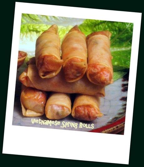 The Last Fried Vietnamese Spring Rolls {Chả giò} Recipe You'll Ever Need!
