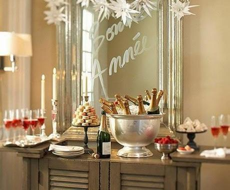 GLAM New Year's Eve Decor