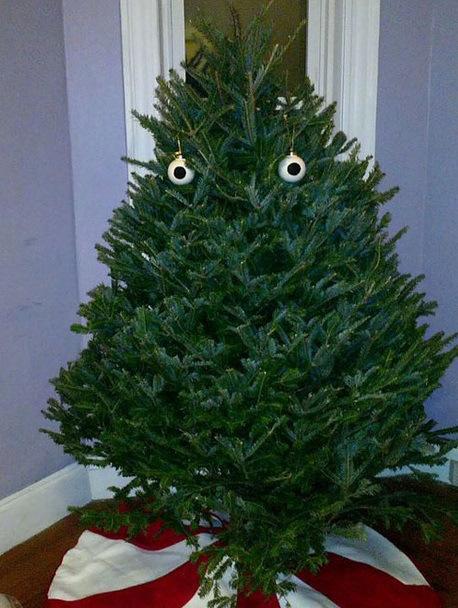 Top 10 Scariest Looking Christmas Trees - Paperblog