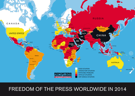 Is Freedom Of The Press Disappearing In The U.S. ?