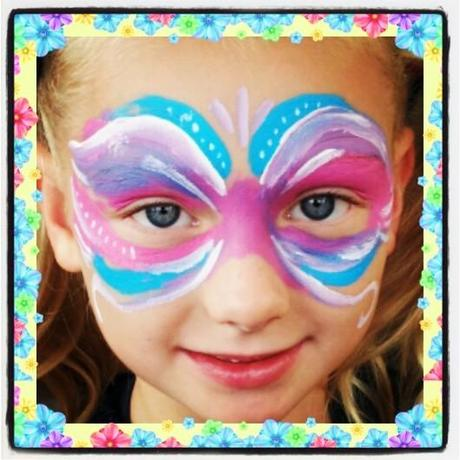 face painting mask by Simon Brushfield Face Painting and the Amazing Imagination of Children