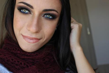 New Year's Eve 2015 Glittery Smokey Eye Makeup Tutorial
