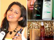 Tresemme Split Remedy Range Livon Moroccan Silk Serum Were Used Oily Scalp Limp Hair