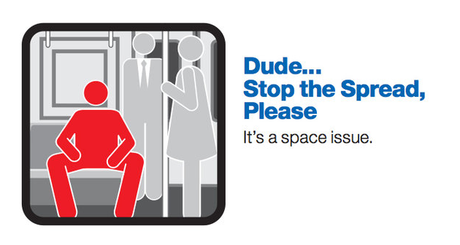 The Last Word:  #manspreading on the #London Underground