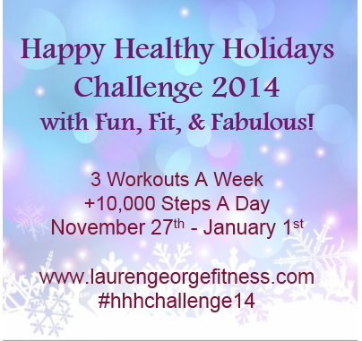 Happy Healthy Holidays Challenge Week 6