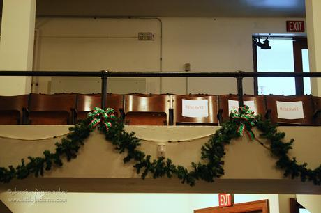 Rockport, Indiana: Christmas Program Best Seat in the House